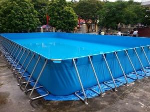 Hồ bơi bạt nhựa di động 02